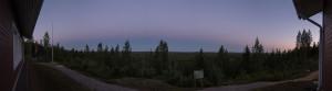 Vastarusko ja maan varjo, kello 23:56 Kuva: Jari Juutilainen