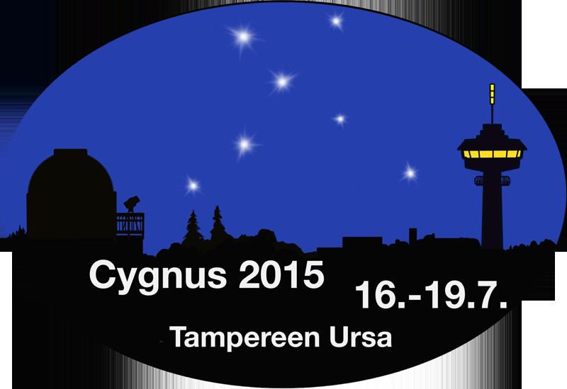 Cygnus 2015 järjestetään Ylöjärvellä 16.-19.7. Kuva (tapahtuman logo): Tampereen Ursa.