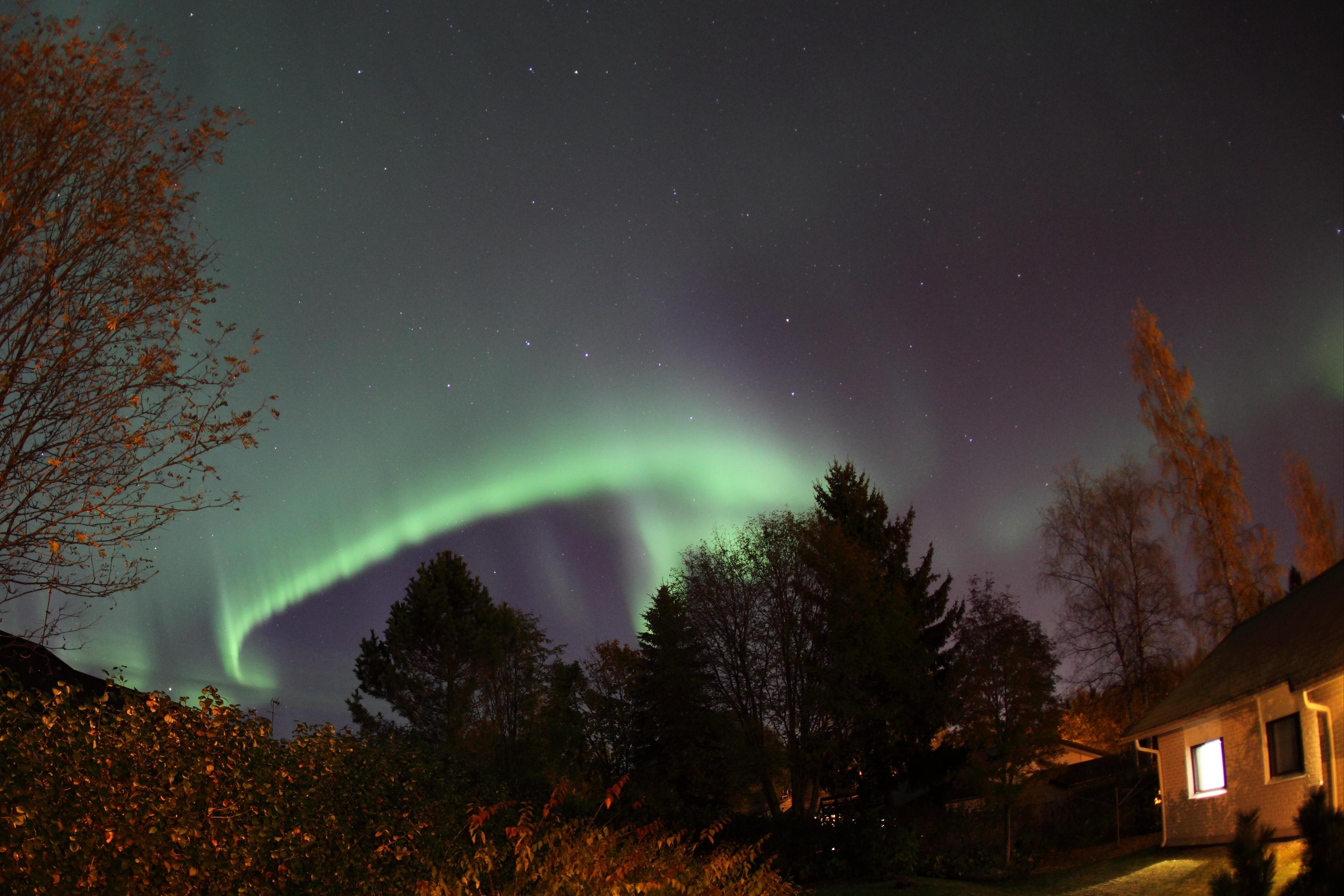 Aurora Borealis Häyrilässä