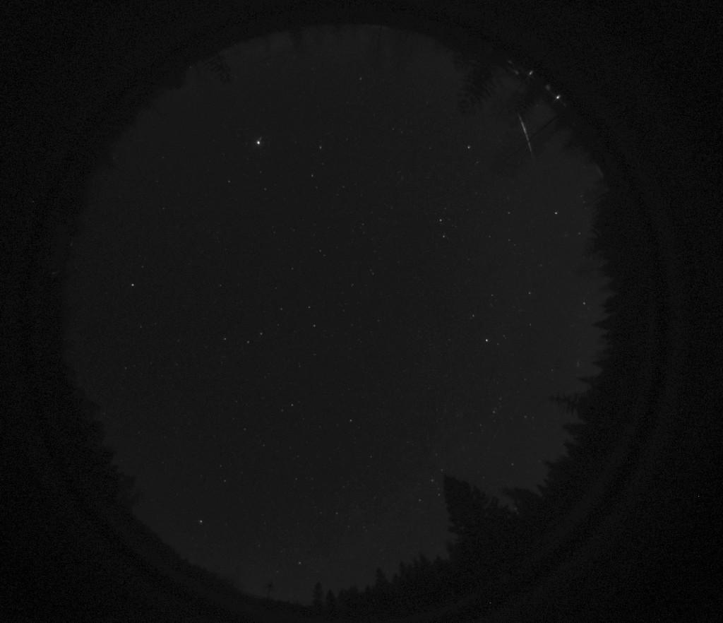 Tulipallo 27.3.216 kello 22:37. Kuva: Härkämäen observatorio.