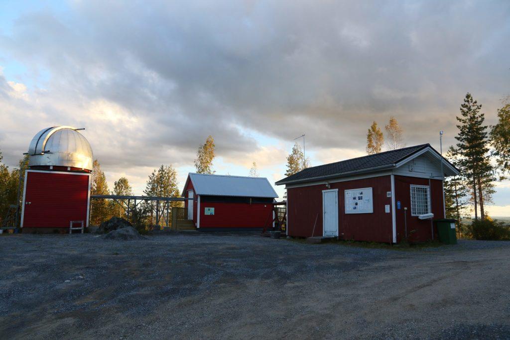 Härkämäen tähtitornit. Kuva: Esa Heikkinen.